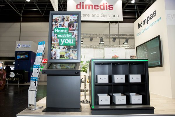 ise 2018 dimedis pr sentiert erstmals kompas 9 0 und neue kioskanwendungen f r den pos. Black Bedroom Furniture Sets. Home Design Ideas
