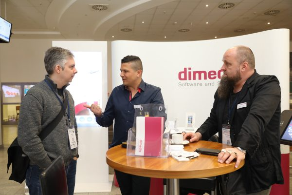dimedis-Stand beim eMarketing Day (Quelle: dimedis)